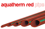 aquatherm red pipe